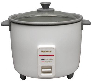 National SR-W10NA 5 Cup Keep Warm Rice-O-Mat Rice Cooker